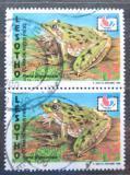Poštovní známky Lesotho 1994 Kassina senegalensis pár Mi# 1096