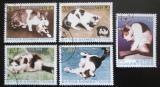 Poštovní známky Kuba 2005 Domácí kočky Mi# 4700-04