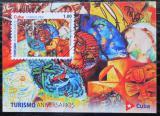 Poštovní známka Kuba 2009 Nástěnné umění Mi# Block 261