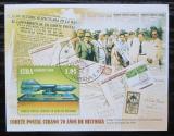 Poštovní známka Kuba 2009 Raketová pošta, 70. výročí Mi# Block 269