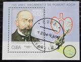 Poštovní známka Kuba 1993 Robert Koch Mi# Block 134