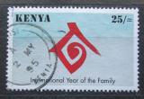 Poštovní známka Keňa 1994 Mezinárodní rok rodiny Mi# 606