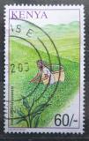 Poštovní známka Keňa 2001 Sběr čaje Mi# 757
