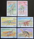 Poštovní známky Guinea 1997 Dinosauři Mi# 1709-14 Kat 8€