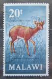 Poštovní známka Malawi 1971 Antilopka pyžmová Mi# 155