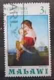 Poštovní známka Malawi 1971 Vánoce, umění, William Dyce Mi# 174