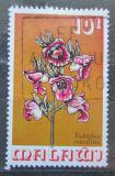 Poštovní známka Malawi 1975 Eulophia cucullata, orchidej Mi# 247