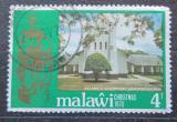 Poštovní známka Malawi 1978 Vánoce, kostel Mi# 301
