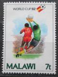 Poštovní známka Malawi 1982 MS ve fotbale Mi# 380