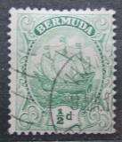 Poštovní známka Bermudy 1910 Karavela Mi# 35 a