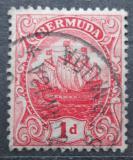 Poštovní známka Bermudy 1910 Karavela Mi# 36 a