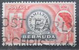 Poštovní známka Bermudy 1953 Známka z roku 1848 Mi# 131