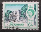 Poštovní známka Bermudy 1962 Stará pošta v Hamiltonu Mi# 167 X