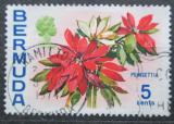Poštovní známka Bermudy 1970 Oleandr obecný Mi# 248 X
