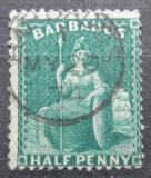 Poštovní známka Barbados 1874 Britannia Mi# 23 A Kat 10€