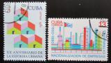 Poštovní známky Kuba 1980 Znárodnění zahraničního průmyslu Mi# 2487-88