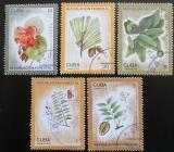 Poštovní známky Kuba 1975 Zalesňování Mi# 2065-69