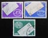 Poštovní známky Kuba 1975 Den známek Mi# 2045-47