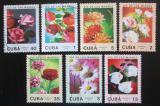 Poštovní známky Kuba 1988 Květiny, Den matek Mi# 3166-72
