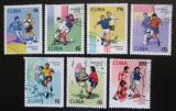 Poštovní známky Kuba 2002 MS ve fotbalu Mi# 4420-24,26-27 Kat 6.20€