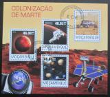 Poštovní známky Mosambik 2014 Kolonizace Marsu Mi# 7685-88 Kat 10€