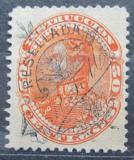 Poštovní známka Venezuela 1900 Simón Bolívar, kolkovací přetisk Mi# 67