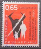 Poštovní známka Venezuela 1961 Sčítání lidu Mi# 1402