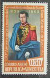 Poštovní známka Venezuela 1960 Generál Sucre Mi# 1381