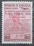 Poštovní známka Venezuela 1954 Panamerická konference Mi# 1085