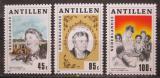 Poštovní známky Nizozemské Antily 1984 Eleanor Roosevelt Mi# 539-41