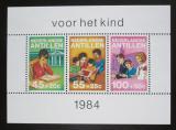 Poštovní známky Nizozemské Antily 1984 Dětské aktivity Mi# Block 28 Kat 6€