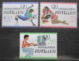 Poštovní známky Nizozemské Antily 1985 Mezinárodní rok mládeže Mi# 557-59 Kat 7€