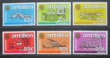 Poštovní známky Nizozemské Antily 1984 Architektura Mi# 530-35 Kat 10€