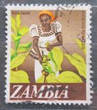 Poštovní známka Zambie 1968 Sklizeň tabáku Mi# 44