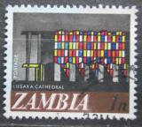 Poštovní známka Zambie 1968 Okno katedrály v Lusace Mi# 39