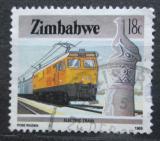 Poštovní známka Zimbabwe 1985 Lokomotiva Mi# 319