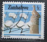 Poštovní známka Zimbabwe 1985 Bavlna Mi# 311