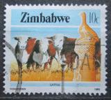 Poštovní známka Zimbabwe 1985 Krávy Mi# 313