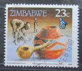 Poštovní známka Zimbabwe 1990 Džbán na vodu Mi# 426