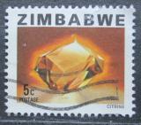 Poštovní známka Zimbabwe 1980 Citrín Mi# 230