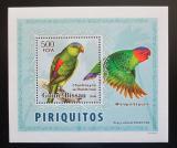 Poštovní známka Guinea-Bissau 2007 Papoušci DELUXE Mi# 3594 Block