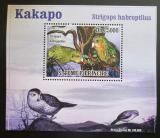 Poštovní známka Svatý Tomáš 2009 Papoušci DELUXE Mi# 3887 Block