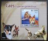 Poštovní známka Svatý Tomáš 2008 Psi DELUXE Mi# 3707 Block