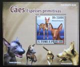 Poštovní známka Svatý Tomáš 2008 Psi DELUXE Mi# 3708 Block