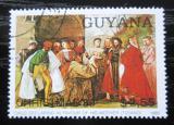 Poštovní známka Guyana 1989 Vánoce, umění, Rubens Mi# 3075 Kat 4.50€