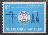 Poštovní známka Nizozemské Antily 1965 ITU, 100. výročí Mi# 148