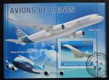 Poštovní známka Togo 2010 Letadla Mi# Block 555 Kat 12€