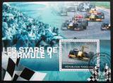 Poštovní známka Togo 2010 Formule 1 Mi# Block 541 Kat 12€