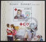 Poštovní známka Mosambik 2010 Henry Dunant Mi# Block 393 Kat 10€