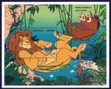 Poštovní známka Ghana 1997 Disney, Lví král Mi# Block 308 Kat 7.50€
